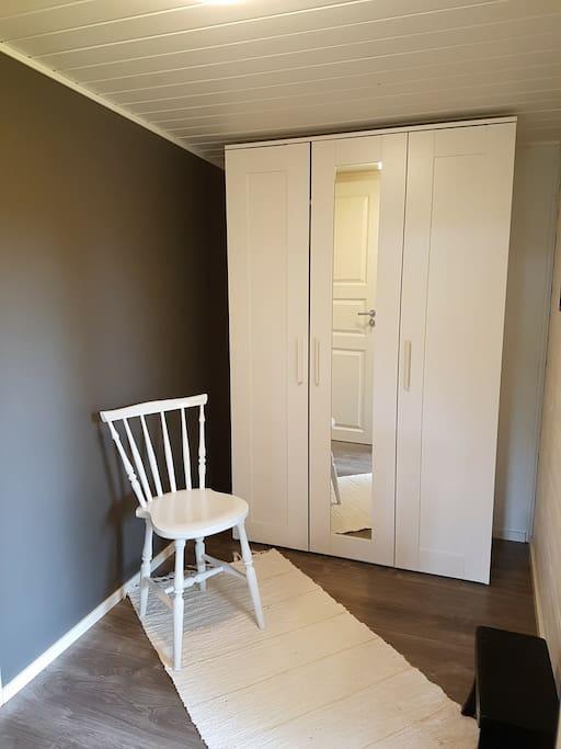 Hall and closet