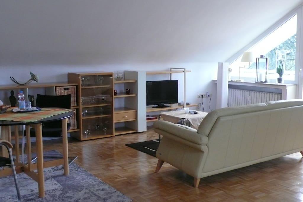 gemütlicher Wohnbereich