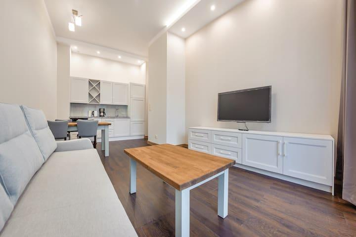 Cypel Helski Apartament Delux A 14 dla 4 osób