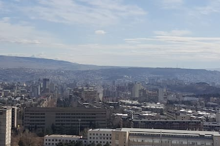 Beautiful Appartment with fresh air and nice view - Tiflis - Daire