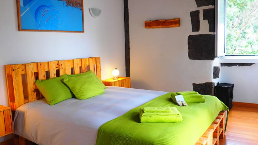 Spacious & Private Family Suite in Eco Lodge