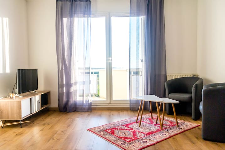 Top of the Rebberg (Mulhouse) – 1BR | Amazing view