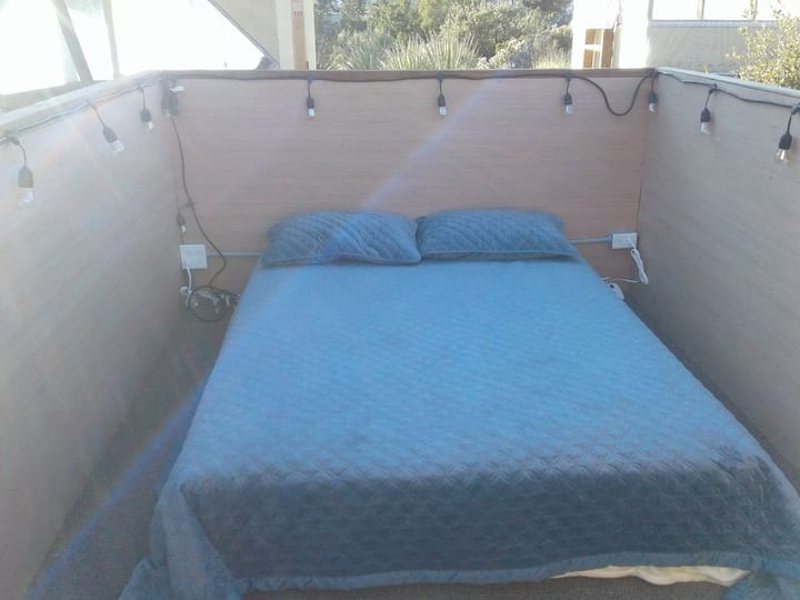 Open Sky Bed Box @ Pinyon Breezes Star Camp