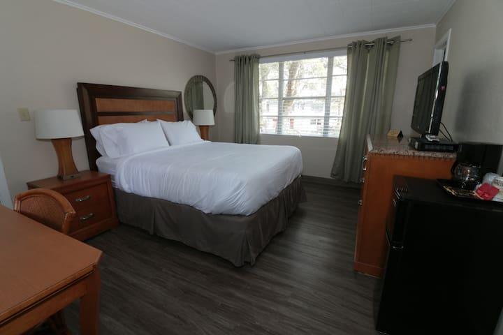 Single King Bed, Queens Court Inn