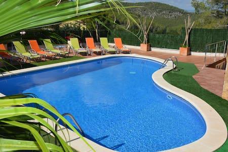 Villa Sitges Amores a 10 min. Terrazas, Chill-out. - Sant Pere de Ribes - วิลล่า