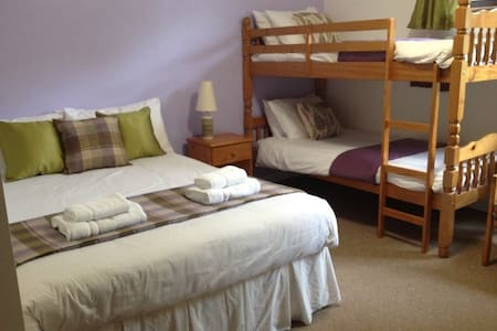 Family Room(Sleeps 4) - Pitlochry - 家庭式旅館