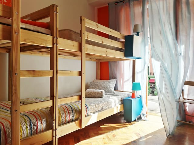 Mini Hostel in Lisbon. Room for 4 guests