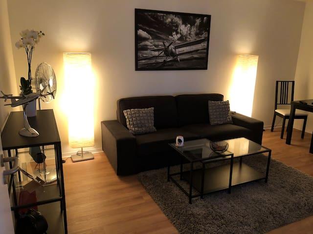 2 Zimmer Apartment Hannover WLAN + Boxspringbett