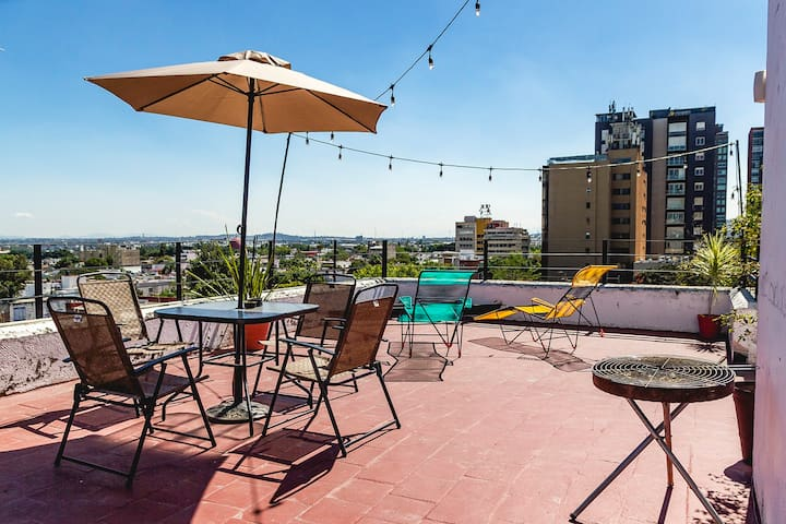 Cuarto Tequila | Rooftop Chapultepec GDL