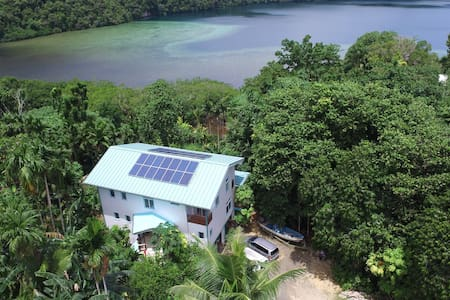 The Dudek's Nest B&B-Rock Island ambiance in Koror