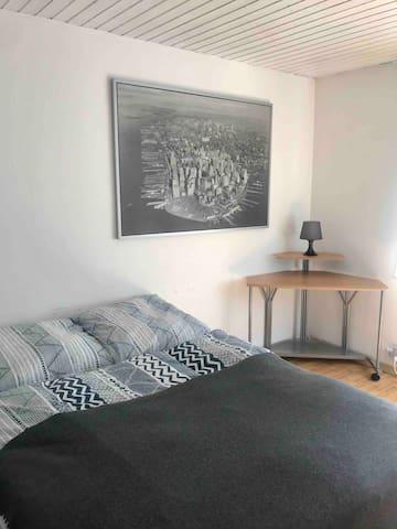 Zentrales 1-Zimmer Apartment in Ulm -Söflingen
