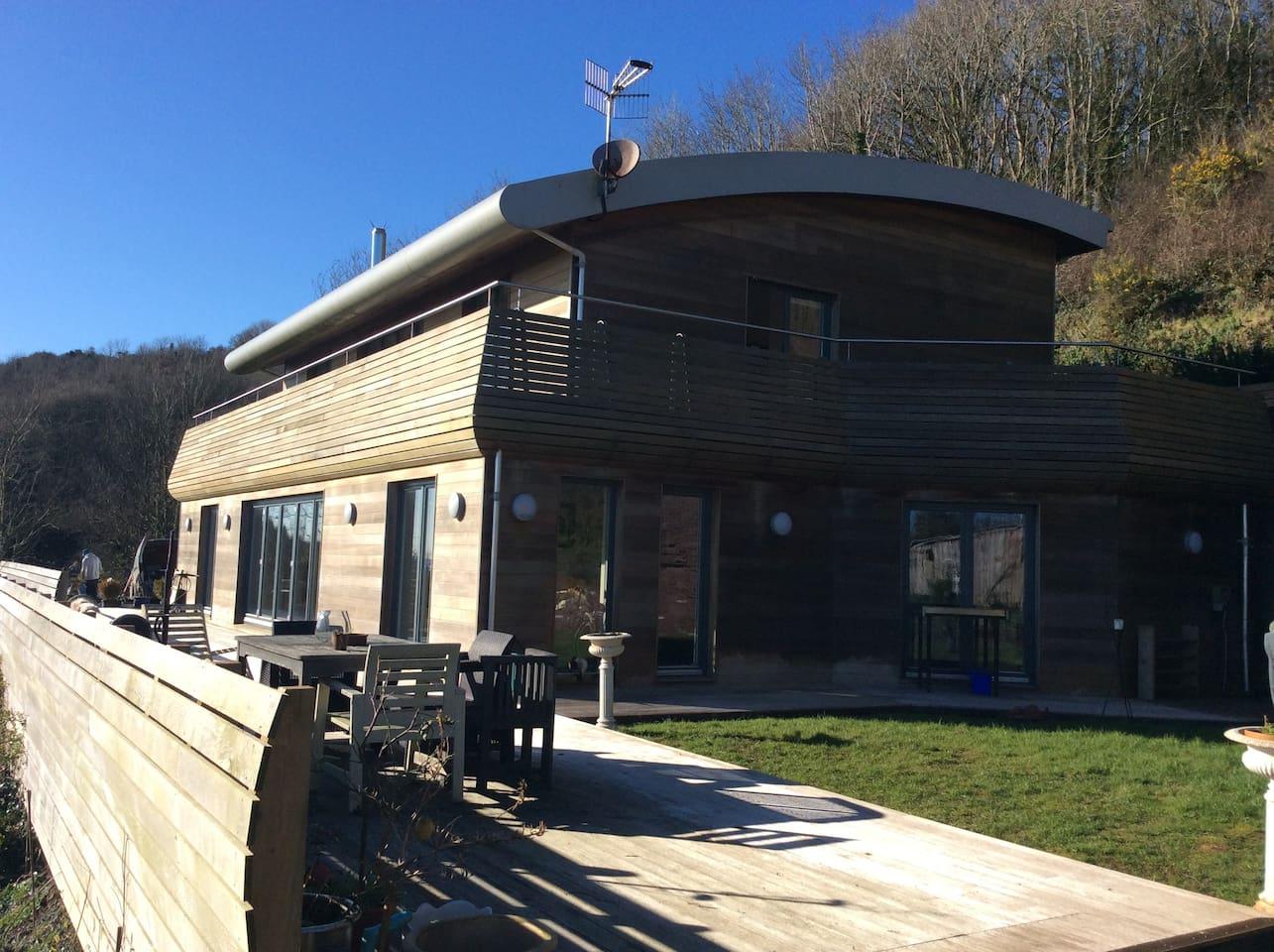 Solar powered Eco House