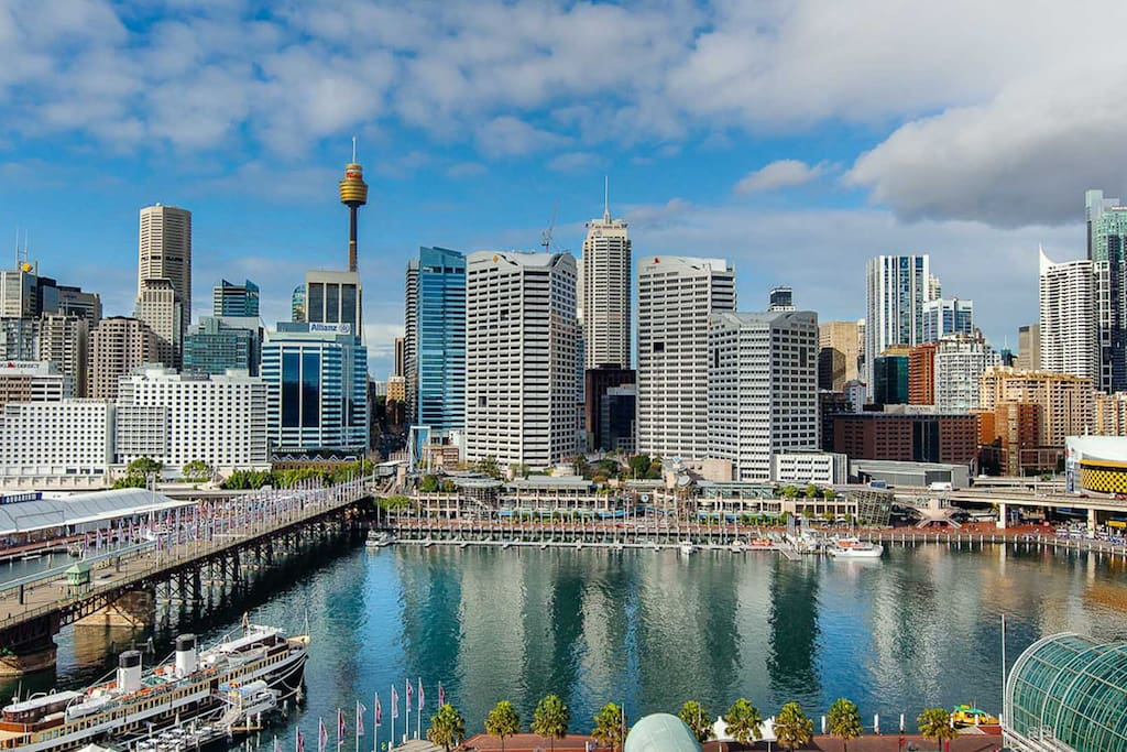 city center living with firework view parking wohnungen zur miete in sydney new south wales. Black Bedroom Furniture Sets. Home Design Ideas