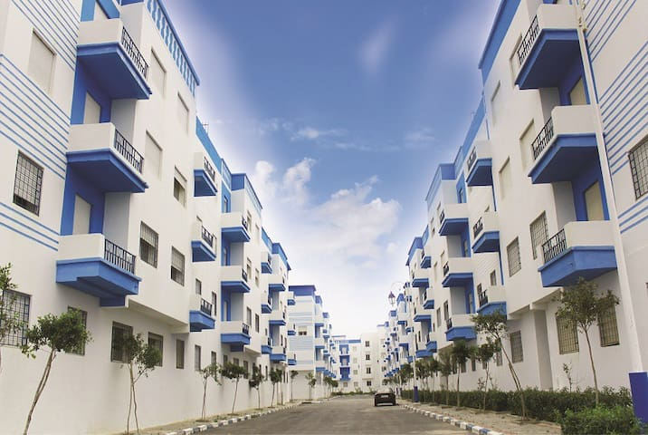 complexe 10,groupe 12, riad sofia, martil, morocco - มาร์ทิล - อพาร์ทเมนท์