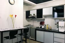 Kitchen at My Habitat Malacca @ 6083  A Coway Water Filter / Dispenser with Hot & Cold Water function just for you