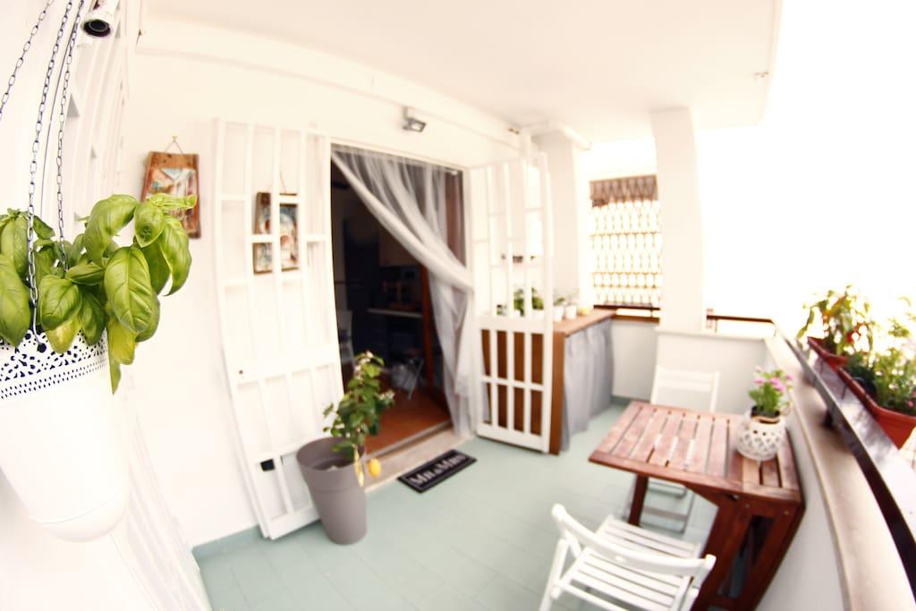 -Balcone Grande -Large balcony