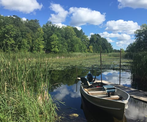Lake Belle Taine Getaway