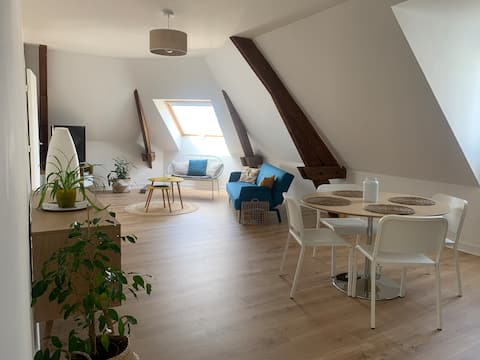 Cocooning apartment 500 metres from TGV train station