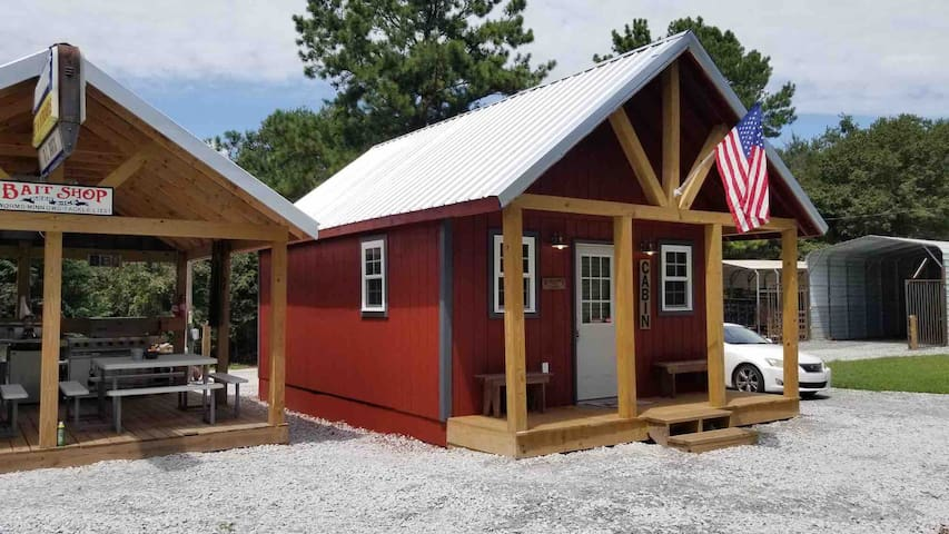 Tiny house/cabin#2 mins to Lake Hartwel&Clemson,SC
