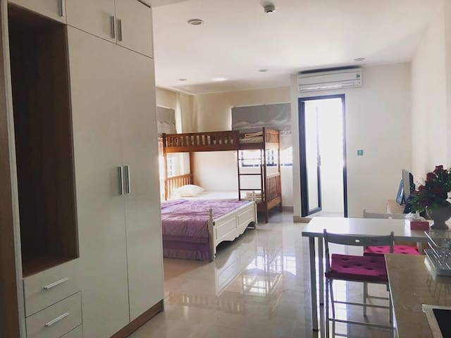 Mini apartment for rent.Near Asia Park, Lotte mart