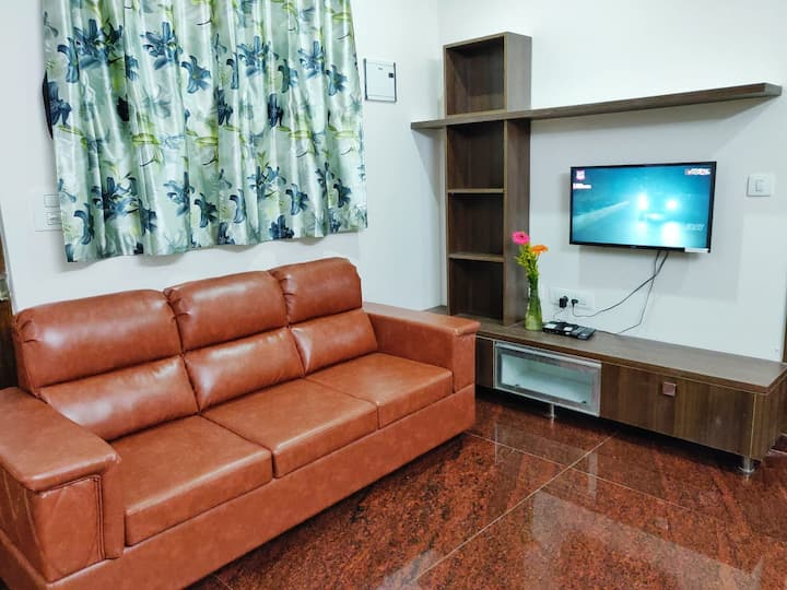 Two Bedroom Flat with kitchen in JP Nagar 01