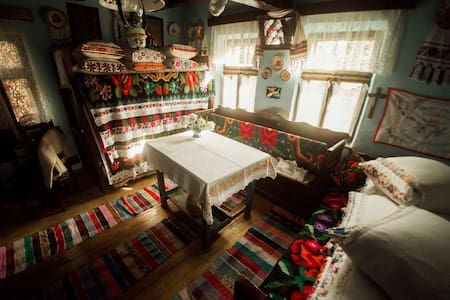 Romanian traditional house- small village Salaj