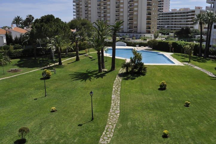 Fantástico apartamento junto al mar y zona verde. - Playa de Gandía - Apartemen