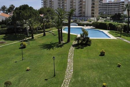 Fantástico apartamento junto al mar y zona verde. - Playa de Gandía - Huoneisto