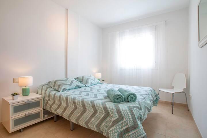 Second bedroom (queen sized bed)