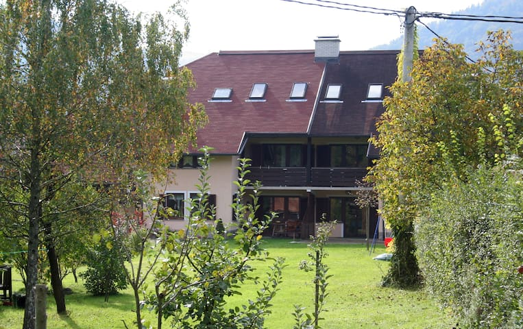 House in the middle of town and close to nature - Mozirje - Gästehaus