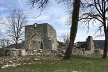Ruine de St-Alban