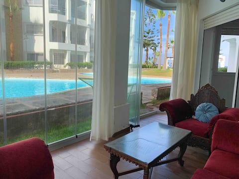 superb apartment - piscine -view - modern