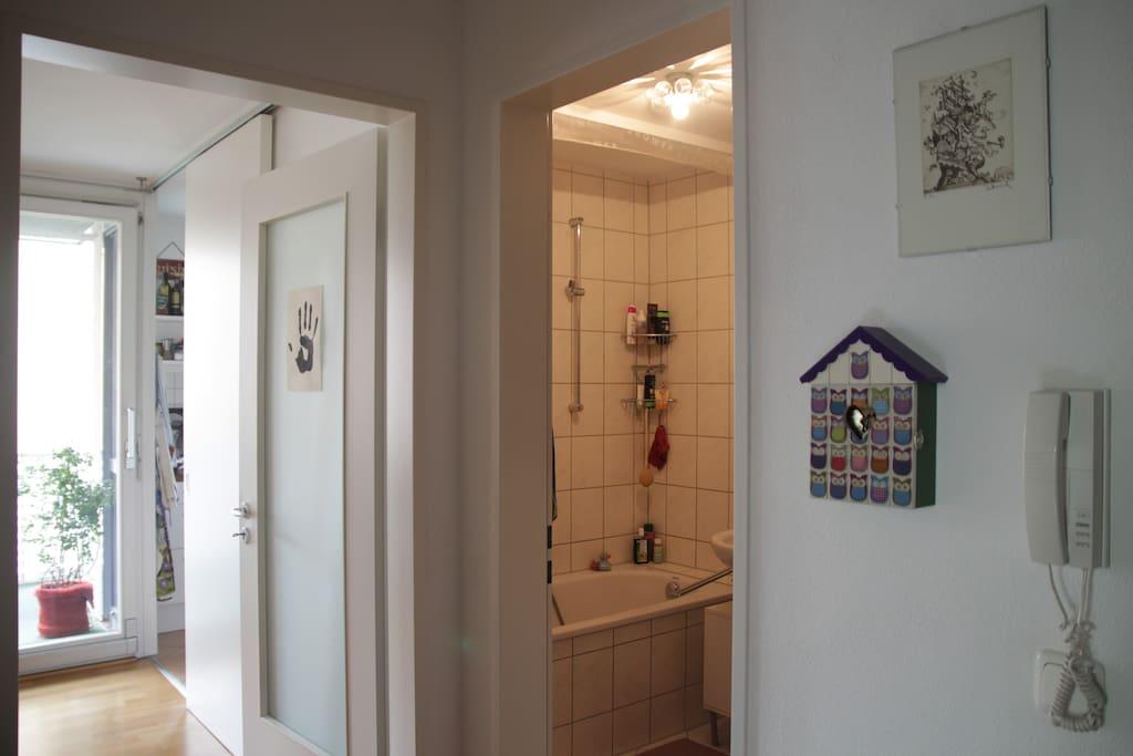 Bath - Corridor