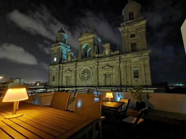 Habitación individual en Casa Santa Ana Catedral