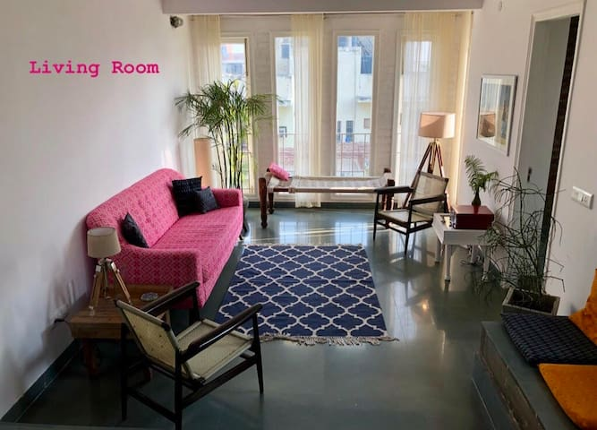 A Room in a Terrace Apartment in South Delhi
