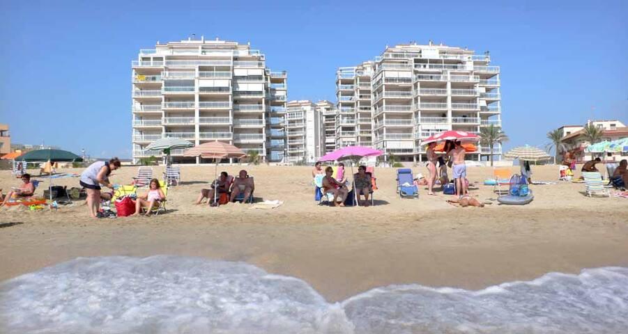 Apartamento en 1 línea de playaResidencial Argenta
