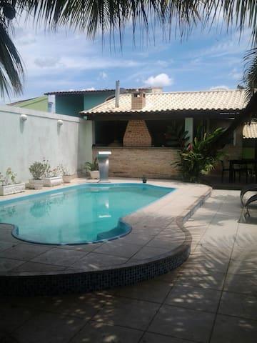 Casa c/ piscina em Araruama - até 15 p - Carnaval - Araruama