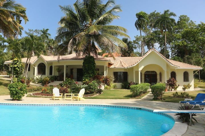 Tranquil 4 bedroom villa in Sosua