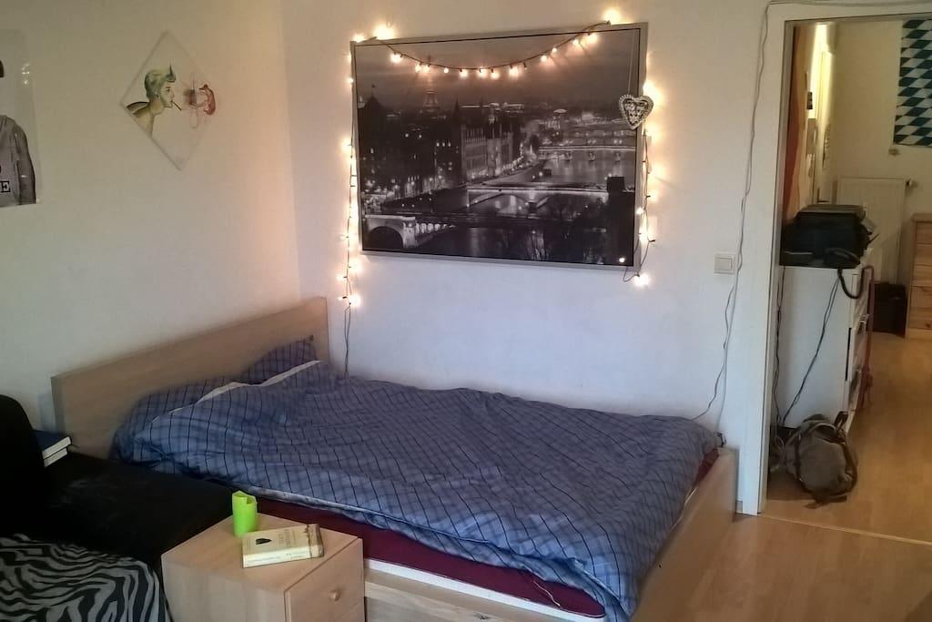 helles zimmer nahe der innenstadt wohnungen zur miete in regensburg bayern deutschland. Black Bedroom Furniture Sets. Home Design Ideas