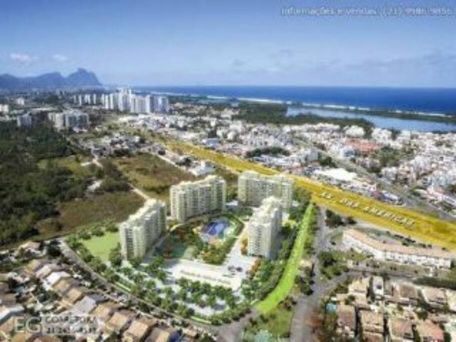 Apartament in condominium club good standard apartments for Miroir club rio de janeiro