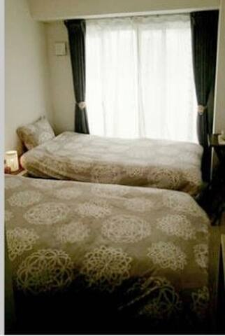 ✳︎a) Twin Room Namba Nearby relax *