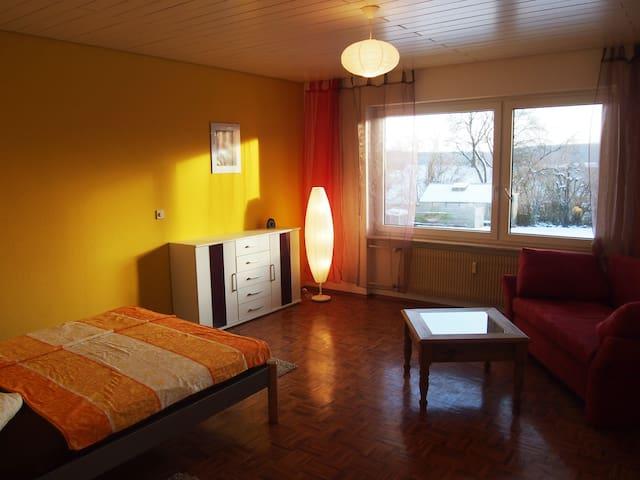 Doppelzimmer mit Garten - Maulbronn - Appartement