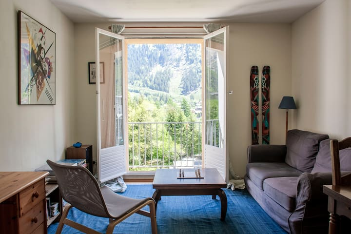 Private room in Chamonix centre apartment