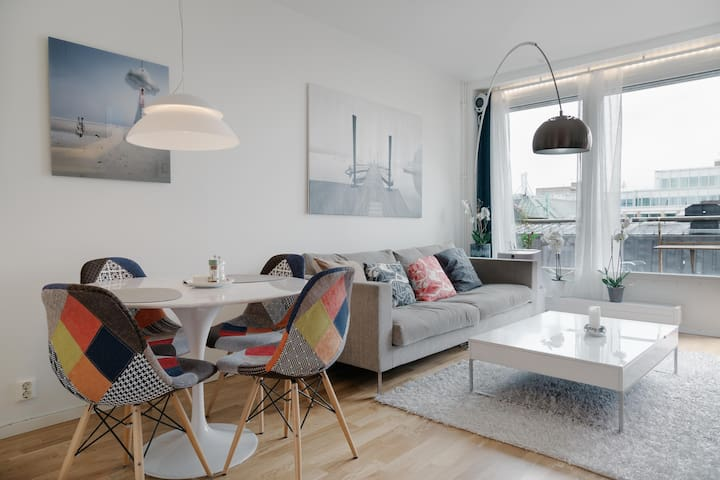 Best location in Stockholm, modern apartment