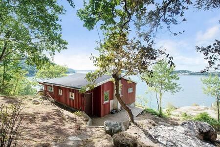 Norwegian Cabin, Sea view toward Sandnes Stavanger