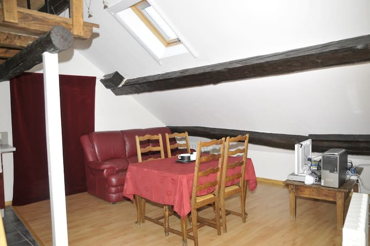 T1 bis meublé dans village calme - Frébuans - Apartamento
