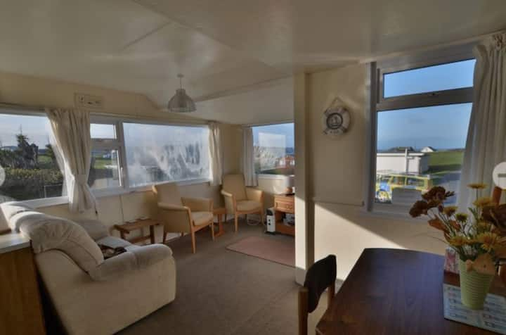 Holiday chalet.  Riviere Towans . Hayle beach
