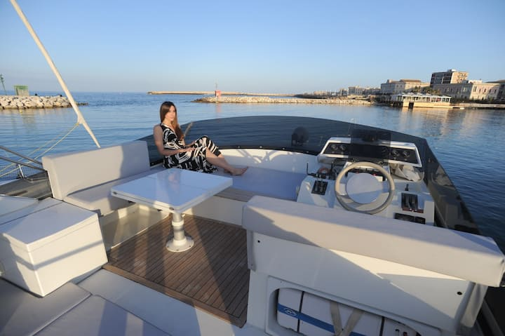 Siracusa Ortigia boat