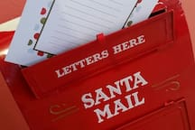 Have you written you're letter to Santa yet?  Special Delivery available at the Clubhouse!