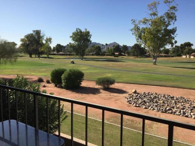 Golf Course Sunset Scottsdale Condo